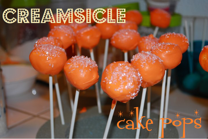 Pumpkin Cheesecake Cake Pops