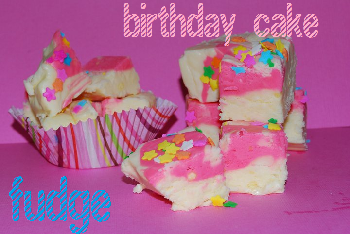 Birthday Cake Fudge The Domestic Rebel