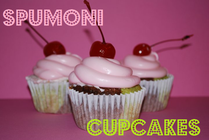 One Bowl Spumoni Cupcakes Recipe — Dishmaps
