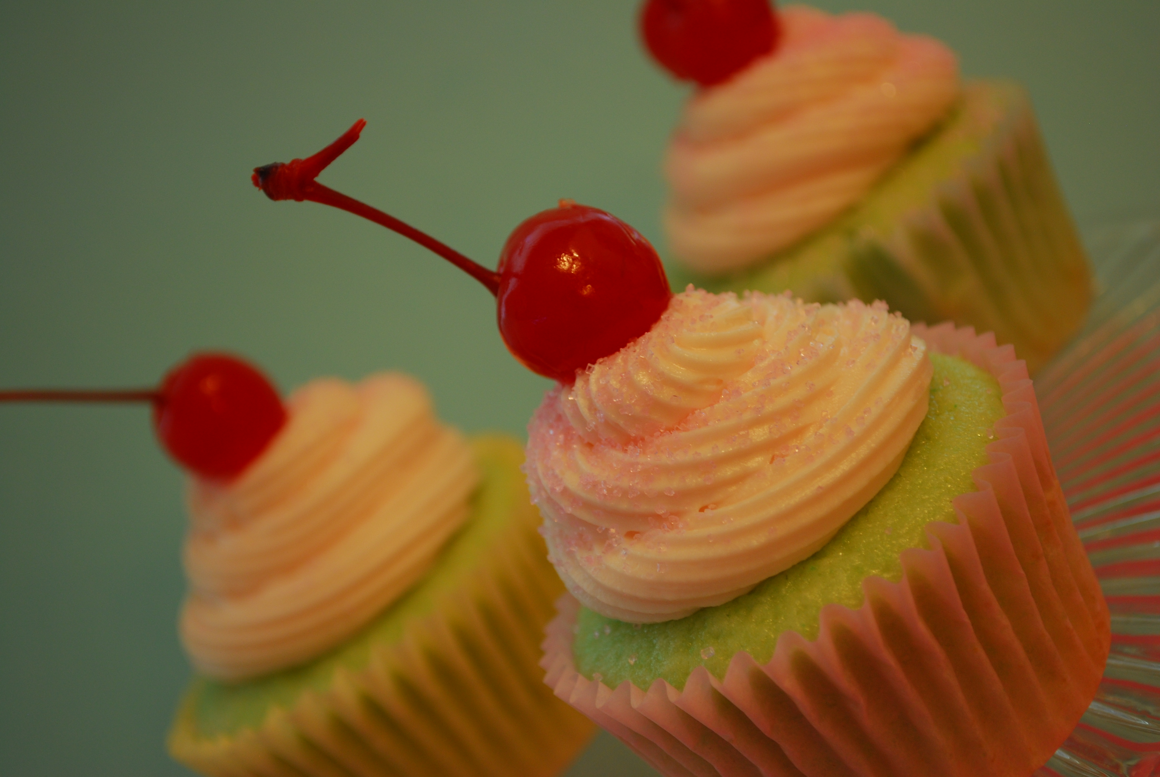 Cherry Limeade Cupcakes | The Domestic Rebel