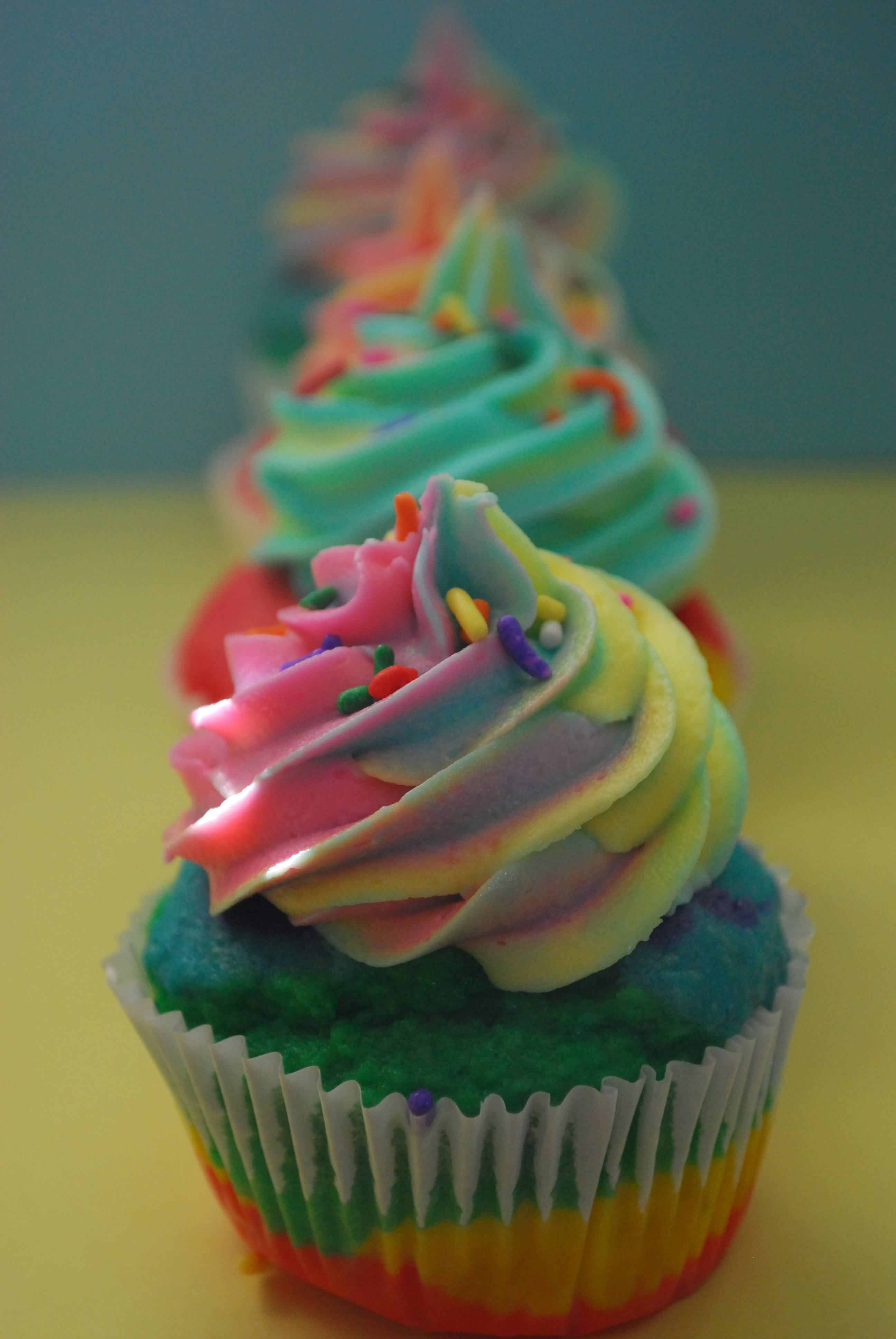 Amazing Rainbow Cupcakes Pt Deux And A Video The