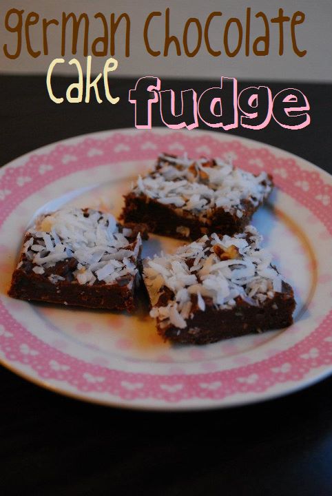 German Chocolate Cake Fudge | The Domestic Rebel