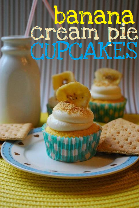 Recipe: Banana cream pie cupcakes
