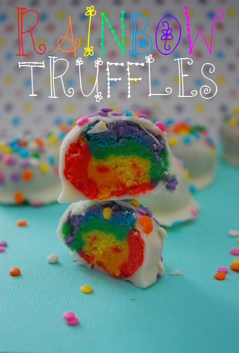 Rainbow Truffles | The Domestic Rebel