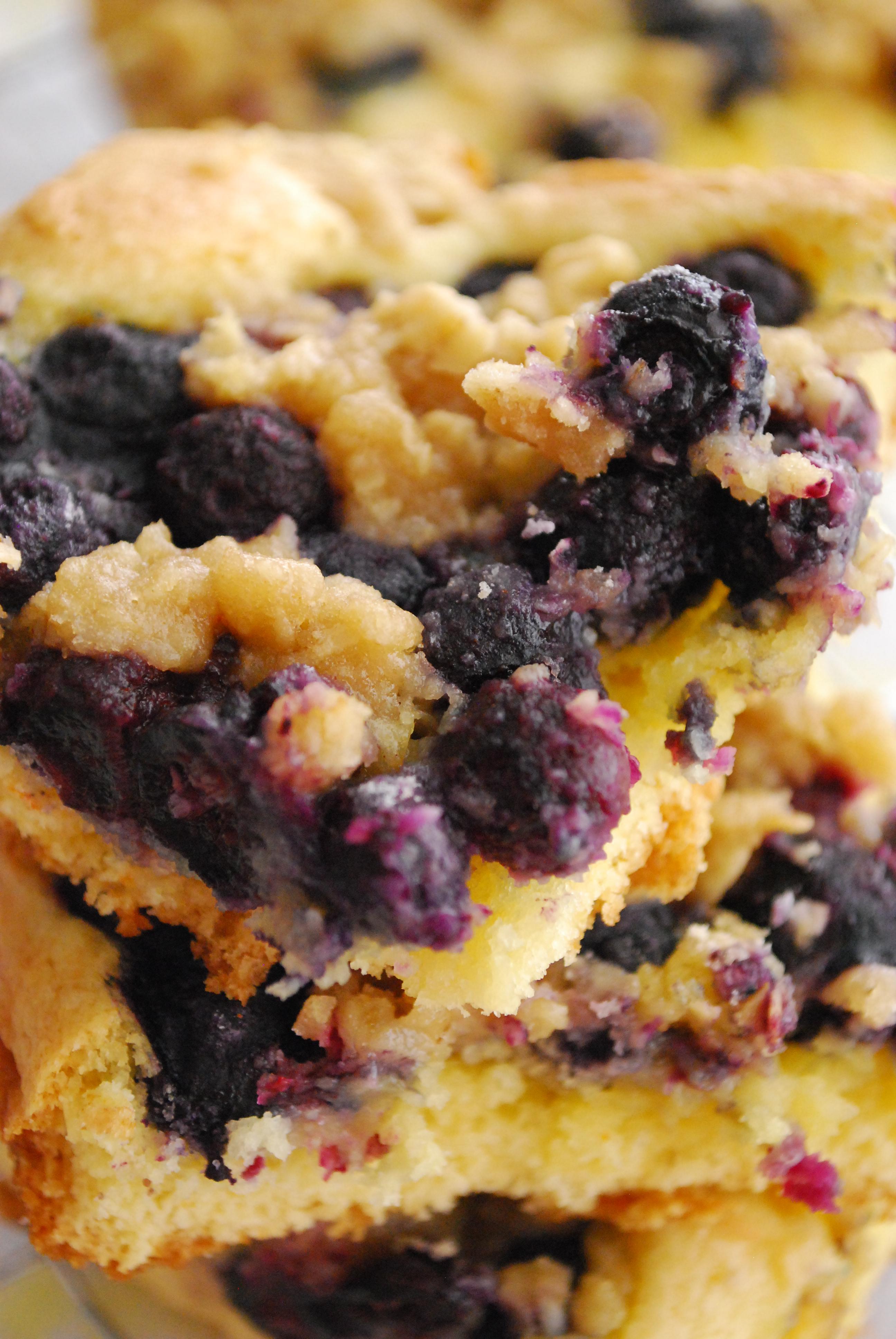 Easy Blueberry Cake Using Cake Mix