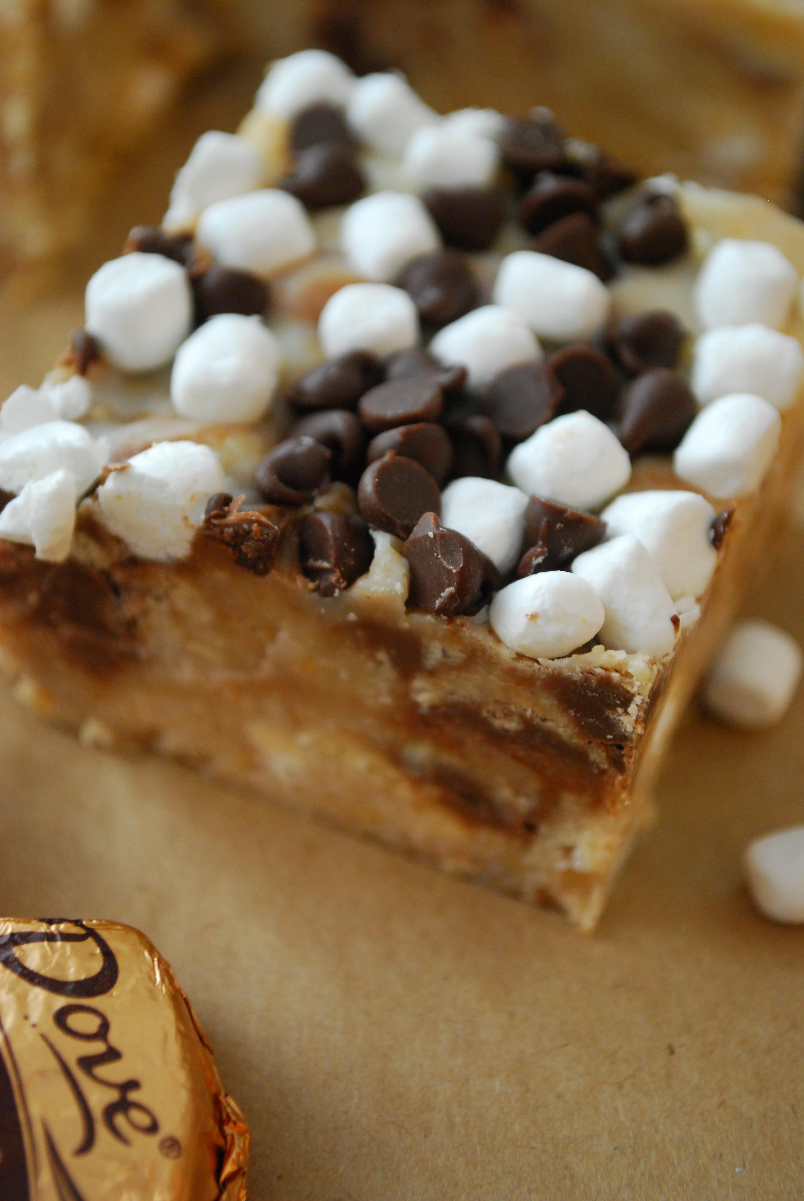 No Bake S Mores Bars The Domestic Rebel